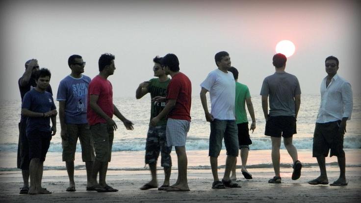 Friends on Beach Photography