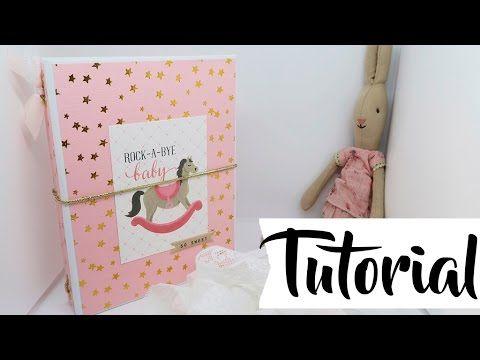 Tutorial: Carpeta médica para bebés - YouTube