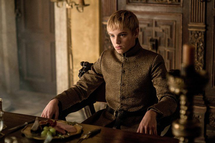 Pin for Later: Here's Why Fashion Girls Are Obsessed With Game of Thrones Fit For a King Tommen reinforces his new position as king dresseed in golden robes.