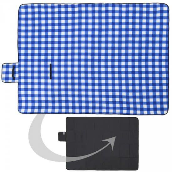 Advertisement: Classic picnic blanket for easy use on your day out.