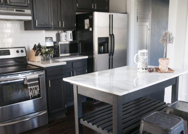 17 beste ideer om Billige Küchen på Pinterest Billige wohnungen - küchenschrank selber bauen