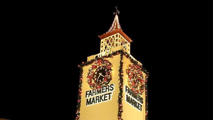 Los Angeles Holiday Events and Activities | Discover Los Angeles            I love The Farmers Market