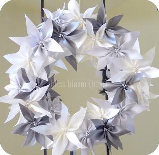 fleurs en ruban (tuto)