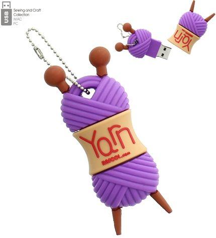 Clé USB pelote de laine 4 Go