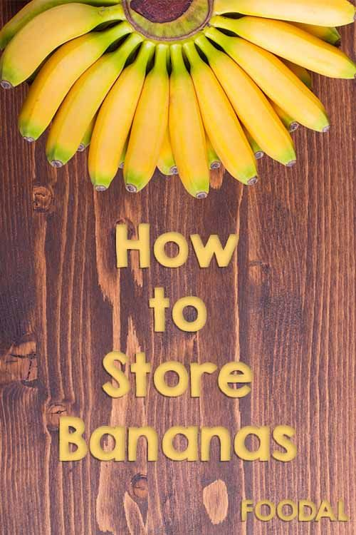 Not sure how to store your perfectly ripe bananas? For all of the details on storage and ripening, as well as the best way to enjoy this fruit at any stage, read more now on Foodal. http://foodal.com/knowledge/how-to/store-bananas/