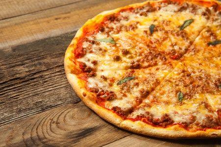 #recette de la pizza maison à la bolognaise !