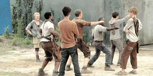 "And Newt be like.....""DANCE YOU BLOODY SHANKS!"""