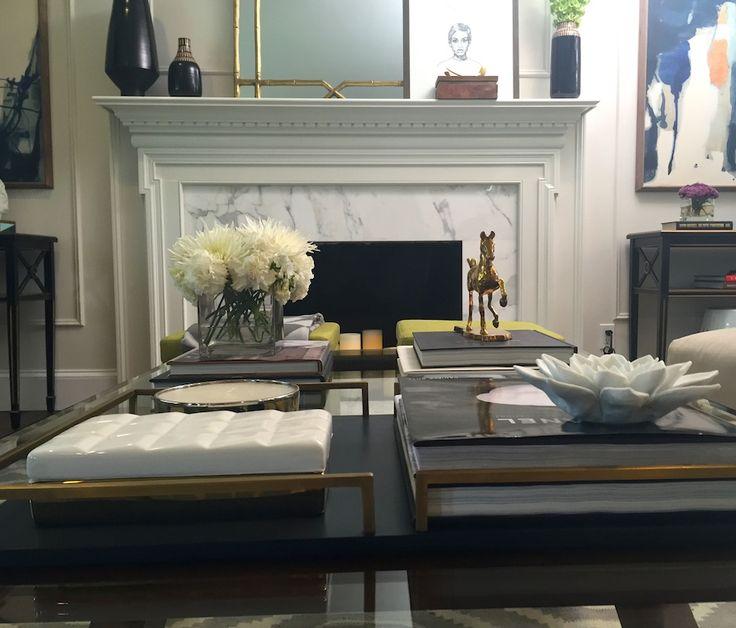 Living Room   Design & Decor Items   MODERN GLAMOR