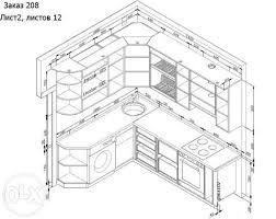 """Результат пошуку зображень за запитом """"кухонная мебель В АВТОКАДЕ"""""""