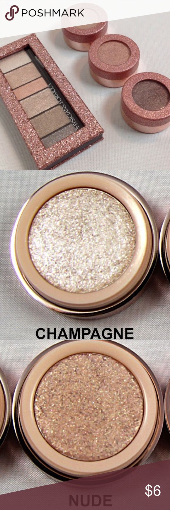 Physician Formula Shimmer Cream Eyeshadow Nude Duo Physicians Formula Extreme Shimmer Gel Cream Eyeshadow Nude Set • TWO COLORS LEFT-- NUDE & CHAMPAGNE Makeup Eyeshadow
