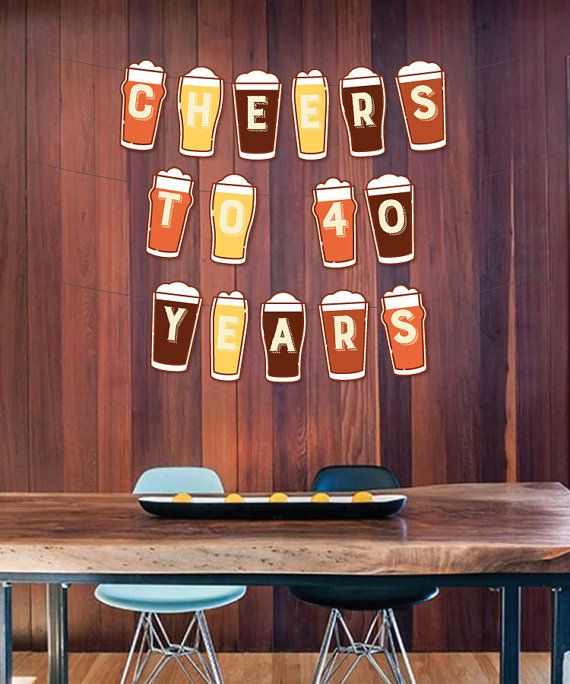 Instant Download Cheers To Any Age Years by CreativeUnionDesign