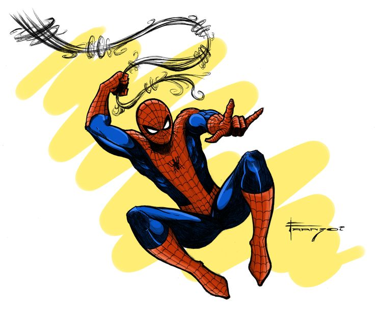 Spider Man - Color