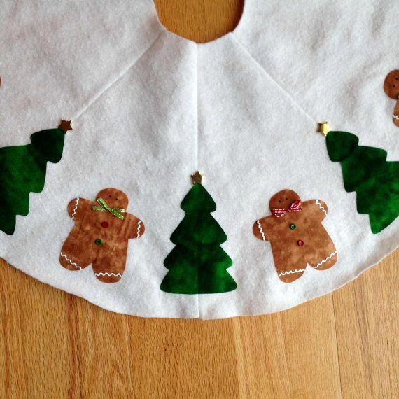 Gingerbread Man Tree Skirt 47