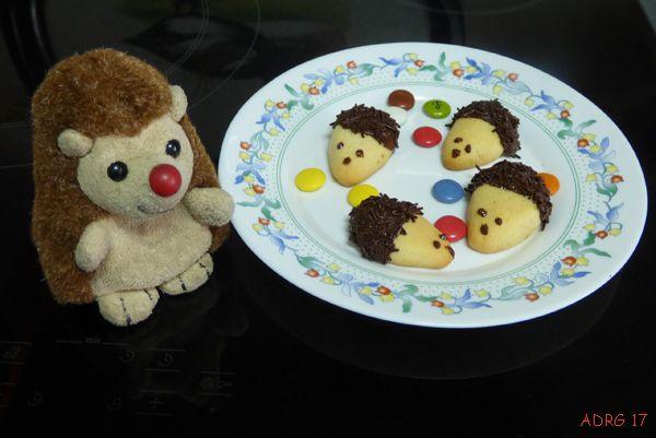 UN AMBIENTALISTA: ¡¡ Unas galletas de erizo muy cookies !!