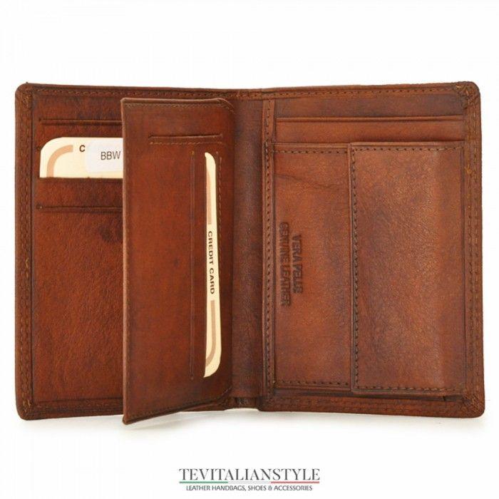Pratesi 'Galleria Corsini' men leather wallet gift item Made in Italy