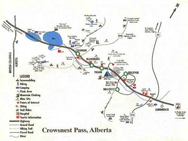 Crowsnest Pass - Alberta, Canada