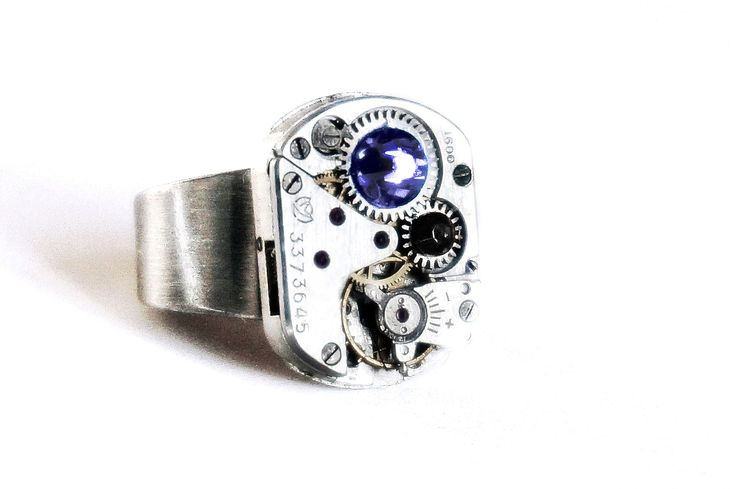 Стимпанк БДСМ кольцо подарок мужчине мужу бойфренду начальнику на день рождения годовщину юбилей Новый год 23 февраля день влюблённых