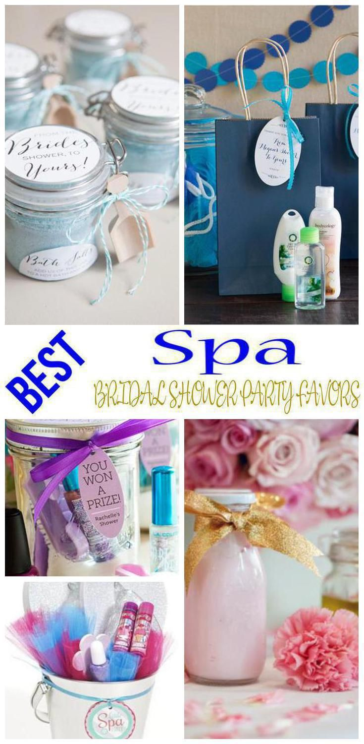 spa bridal shower party favors | wedding | pinterest | bridal shower