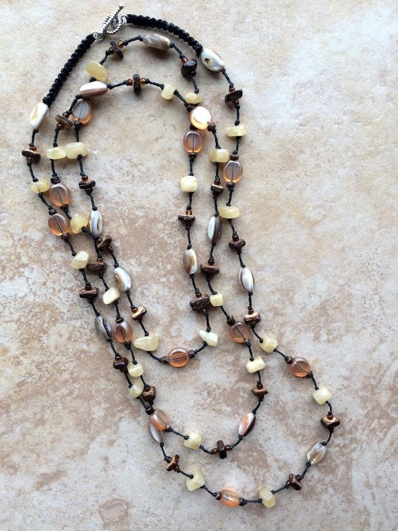 Hey, I found this really awesome Etsy listing at https://www.etsy.com/uk/listing/269153882/boho-necklace-stone-necklace-yellow
