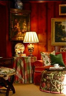English country cottage, living room, Interiors Etc. Details