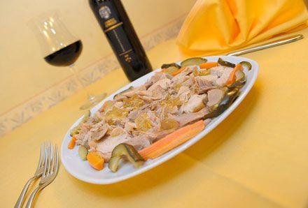 Tacchino alla Canzanese - la vera ricetta autentica