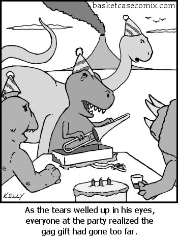 I dont know why I think TRex jokes are so funny...