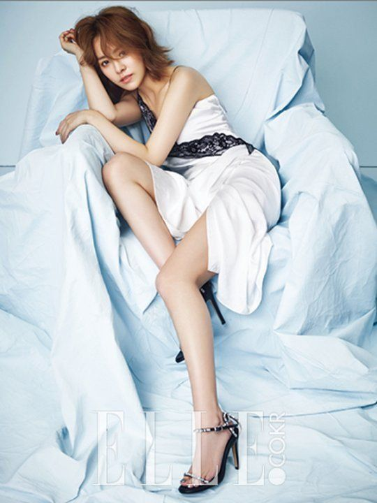 Han Ji Min Posts Her Beautiful Shots from 'Elle' Photoshoot' | Koogle TV