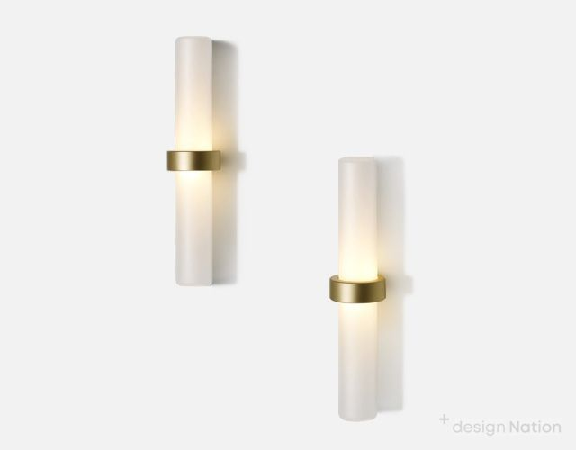 Typography Cilon Staff Wall Sconce By Rakumba And Designed By