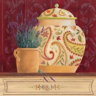 Ginger Jar and Lavender Prints by Gloria Eriksen