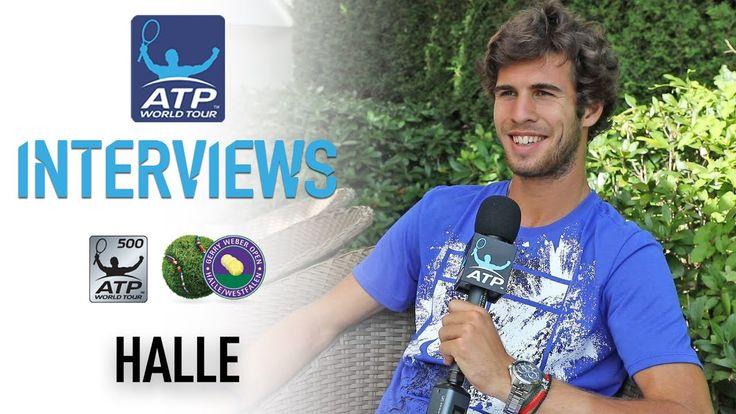 #atp #tennis #news  Khachanov Wins NextGenATP Battle To Reach Halle SF