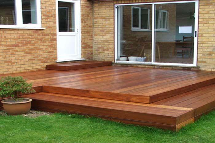 modern backyard deck designs - Google Search | one day ...