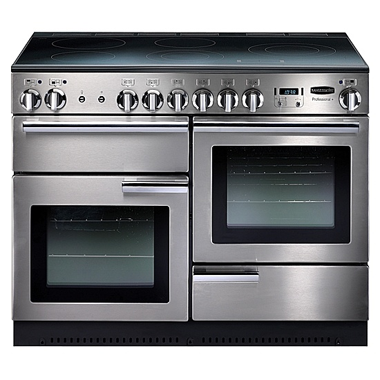 Electric Range Cooker, Stainless Steel