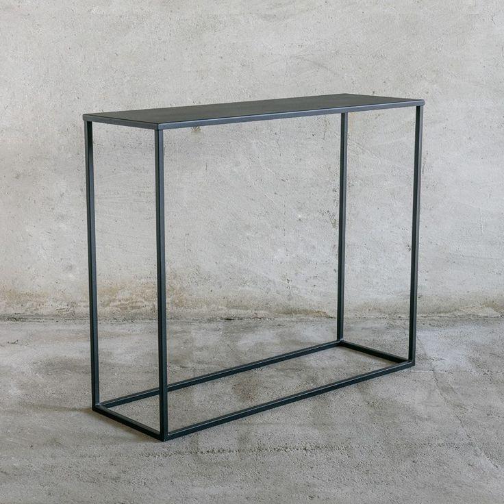 simplex konsolentisch 90 cm in 2019 wohnen konsolentisch konsolentisch schwarz und. Black Bedroom Furniture Sets. Home Design Ideas