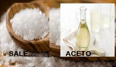 Sale,Acqua e Aceto.Il mix perfetto per ogni tua esigenza!Basta mescolarli tra di loro e il gioco è fatto! Ecco i tanti modi in cui potrete utilizzarli.LEGGI