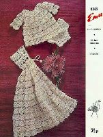 Free Crochet Patterns: Crochet Christening Gown Pattern