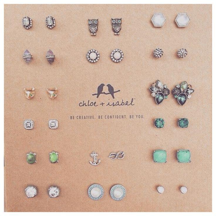 I love little earrings ♡