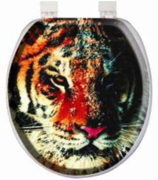Banyonuzun dekorasyonu için aslan desenli klozet kapağı detaylı bilgi için tıklayın. #camtutucular #banyoaksesuarları #cammentşeleri #camkapıkilitleri http://bit.ly/1C8aHoD