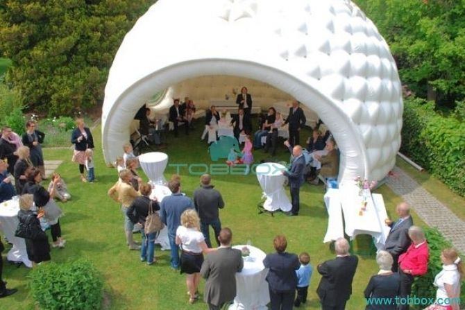 inflatable lounge tents