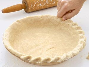 The first step to creating a beautiful crust..... then 6 Perfect Piecrusts