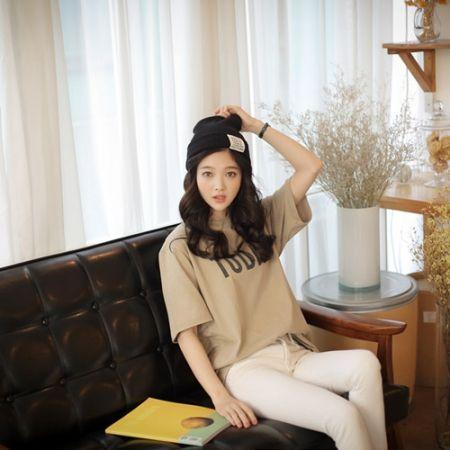 Womens Clothing Store [VANILLAMINT] Today T-shirt / Size : FREE / Price : 24.79 USD #dailyllook #dailyfashion #fashionitem #top #T #TEE #Tshirts  #ootd #vanillamint http://en.vanillamint.net/ http://cn.vanillamint.net/ http://jp.vanillamint.net/