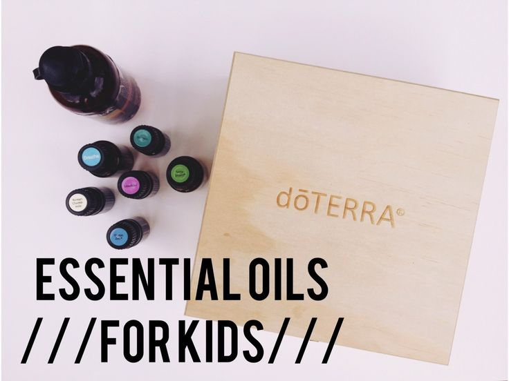 essential oils for kids with doterra