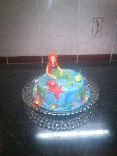 Kis hableány torta
