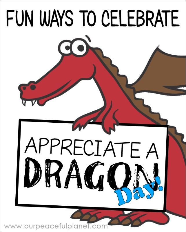 Appreciate a Dragon Day is January 16th!