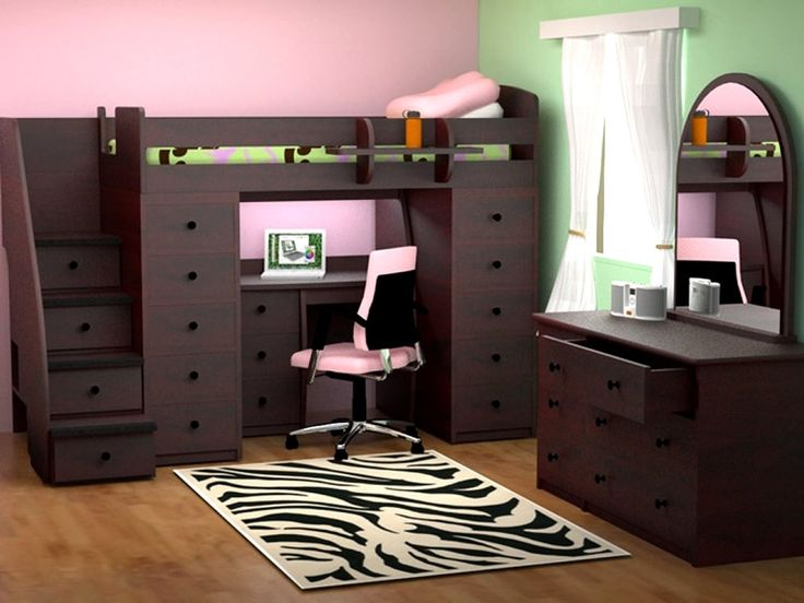 cool space saving bedroom furniture dekorationmdchenschlafzimmerkleine - Coole Mdchen Schlafzimmer Mit Lofts