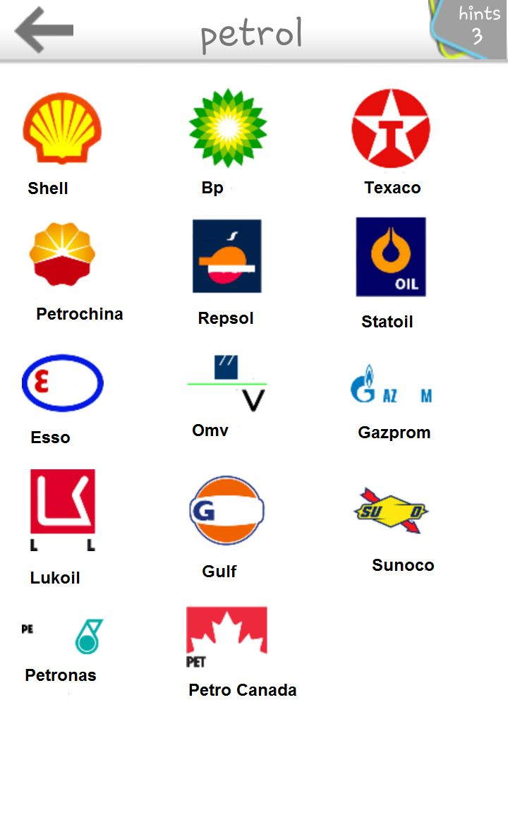 1000+ images about Petrol Logo on Pinterest