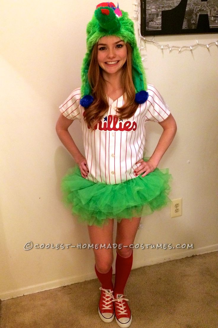 Womans Phillie Phanatic Costume  Coolest Homemade Costumes  Cool -7234