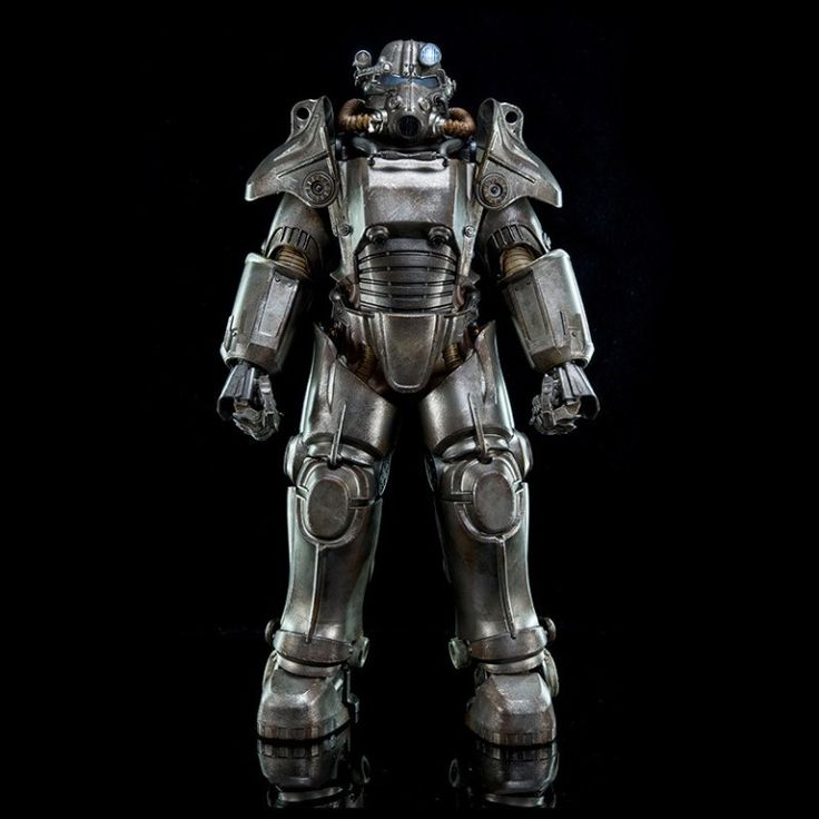 This 1/6 Fallout 4 T-45 Power Armor action figure is so lavishly detailed it's unreal! http://blogjob.com/hangmen13/2016/03/01/threezero-1-6-t45-power-armor-brings-fallout-4-to-life/