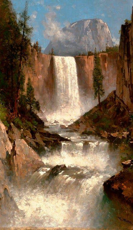 Vernal Fall ~ Yosemite National Park, California