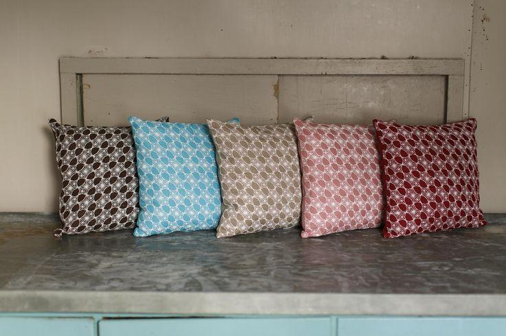 Ursa cushions. Design by Riikka Kaartilanmäki 2010.