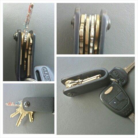 Kydex key keeper using .125 thickness.